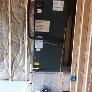 New HVAC Indoor Unit Basement
